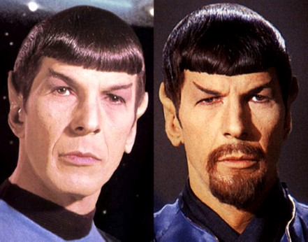 Good and bad spock