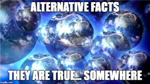 3 alternative facts