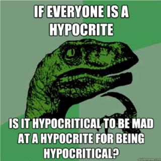 1 hyprocrite