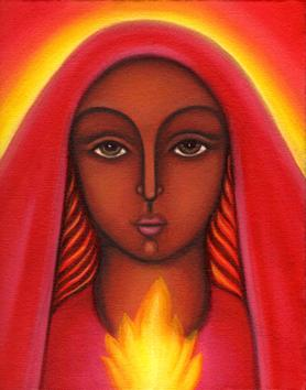 Mary magdalene, our lady of fire